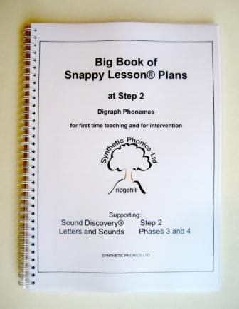 Big Book of Snappy Lesson Plans at Step 2.