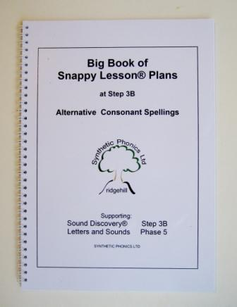 Big Book of Snappy Lesson Plans at Step 3B.