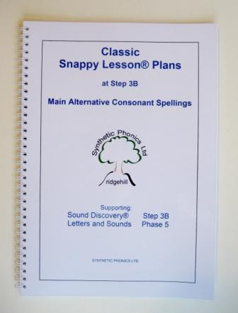 Classic Snappy Lesson Plans at Step 3B.