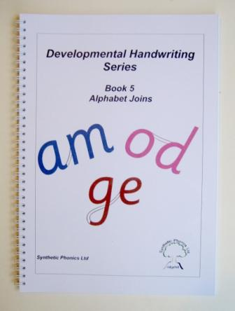 Developmental Handwriting Series, Book 5.