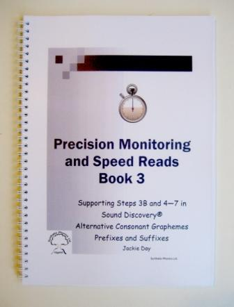 Precision Monitoring and Speed Reads Book 3, Steps 3B and 4-7.