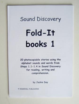 Sound Discovery Fold-it Books No.1, Step 1. (Pack of 59).